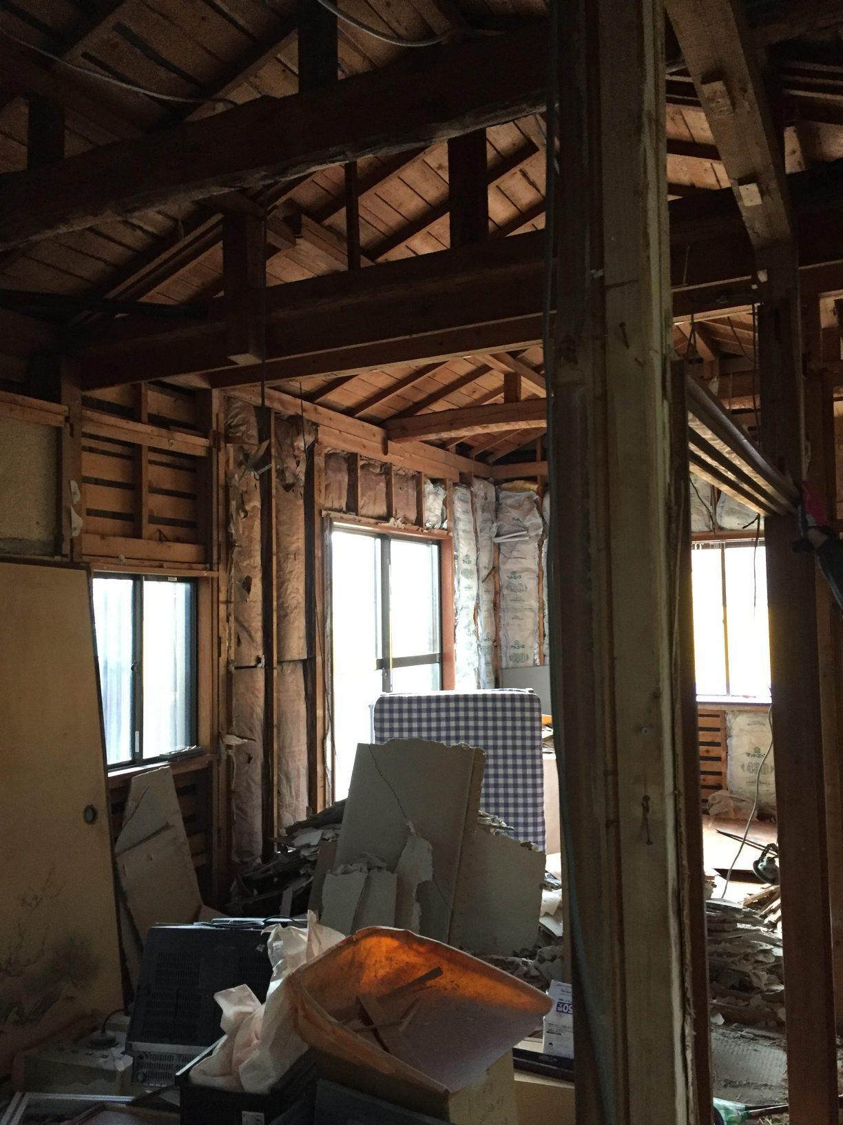 耐震改修工事の始まり